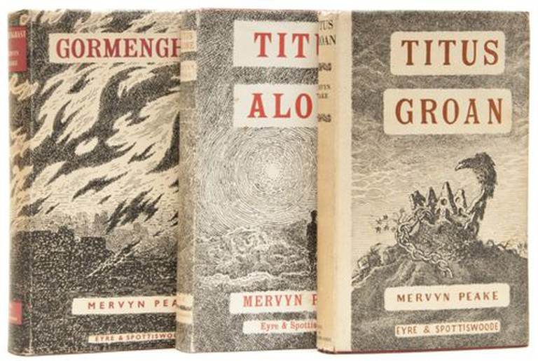 The Gormenghast Trilogy |© Meryn Peake/Pinterest