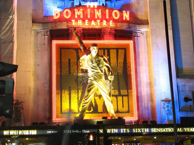 We Will Rock You Musical, The Dominion Theatre London | © Ian Muttoo /Flickr