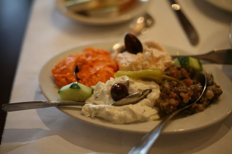Greek Dips | © Dave Winer/Flickr