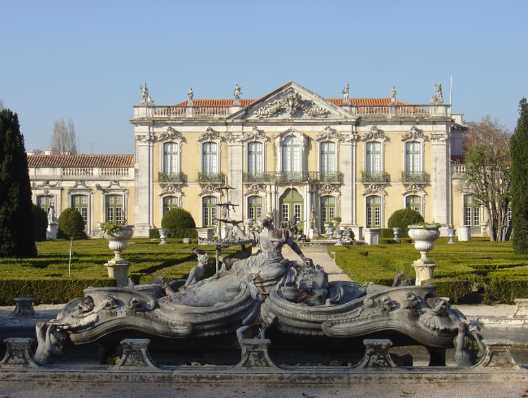 Queluz Palace fountains | © Husond / WikiCommons