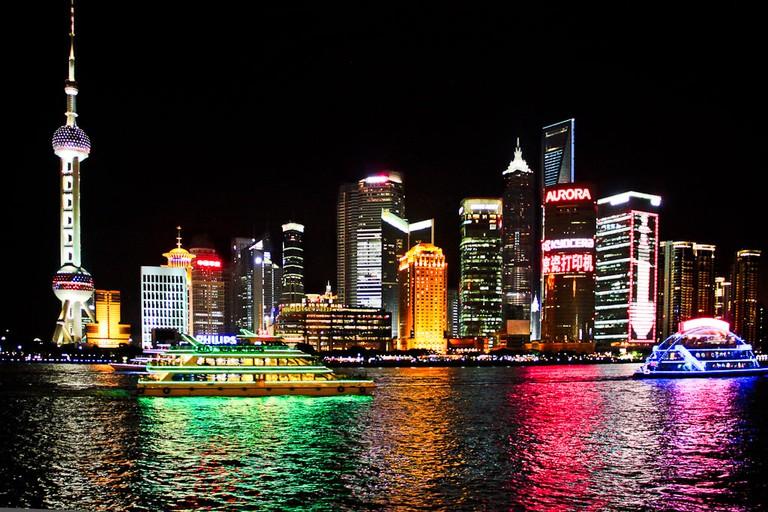 Shanghai at night | © tengri555/Flickr