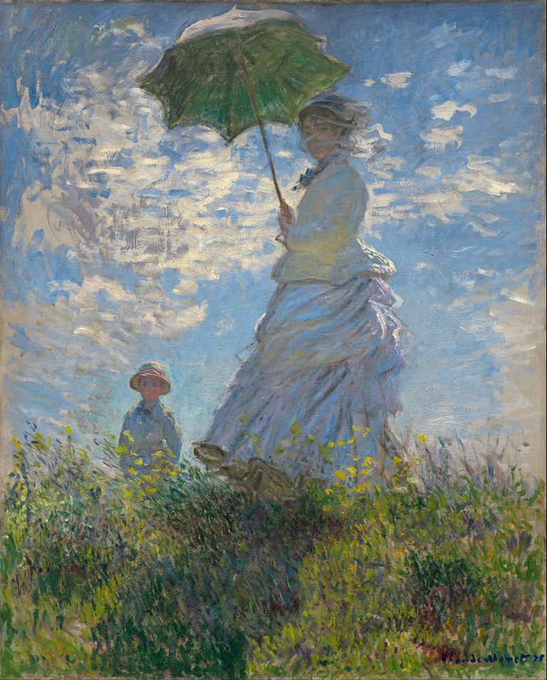 Woman with a Parasol | Claude Monet/WikimediaCommons