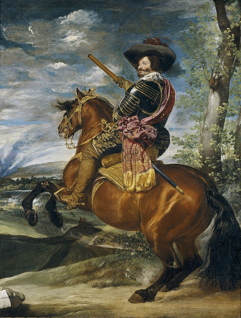Diego Velázquez, Equestrian Portrait of the Count-Duke of Olivares, c. 1636 | © Museo del Prado/WikiCommons