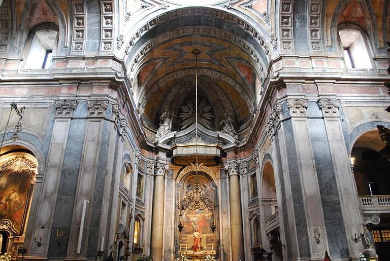 Interior of Basílica da Estrela