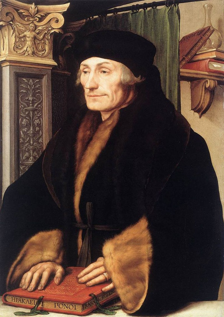 Desiderius Erasmus of Rotterdam, by Hans Holbein the Younger |© Wiki Commons