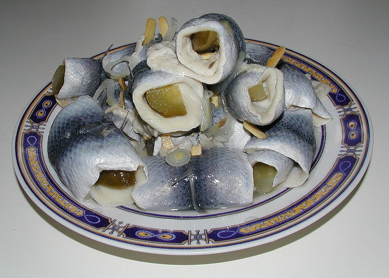 Rollmops on a plate | © Ra Boe/WikiCommons