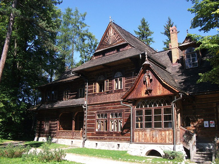 Villa Koliba, designed by Witkacy's father, Zakopane
