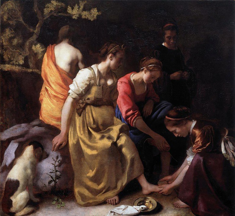 Diana and Her Companions, Vermeer | Public Domain/WikimediaCommons