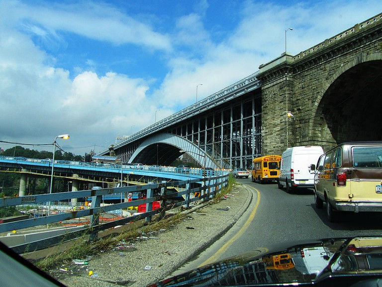 Bronx NYC Ramp to GW Bridge | © pscf11/Flickr