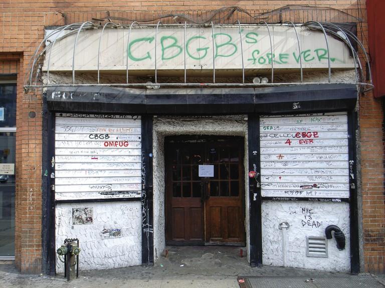 CBGBs the day it closed | © Chris Rubino