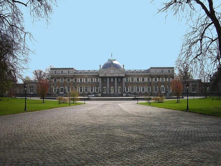 Castle of Laeken, Brussels, Belgium | © Athenchen/WikiCommons