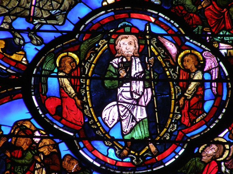 Bourges Cathedral Apocalypse Vitrail