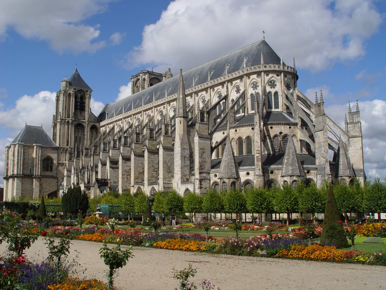 Saint-Etienne in Bourges Cathedral