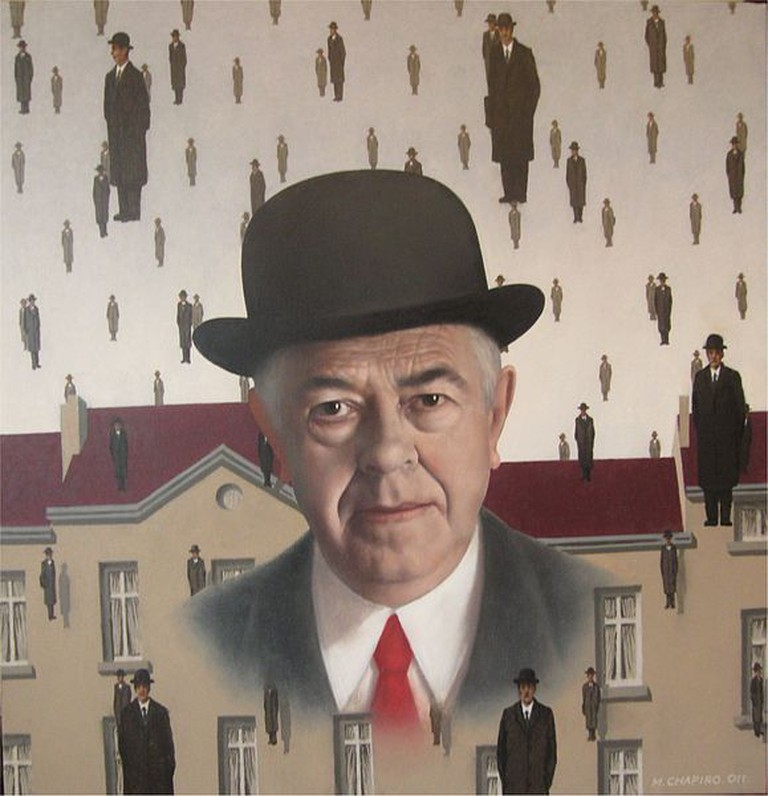 Portrait of Rene Magritte by Chapiro, 2011|© Chapiro/ Wiki Commons