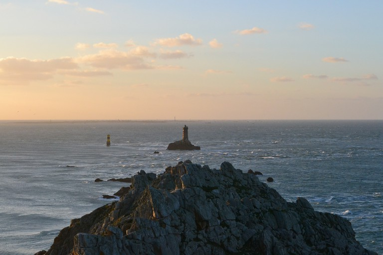 La Vieille Lighthouse at Pointe du Raz, Brittany, France |© Hristos Fleturis