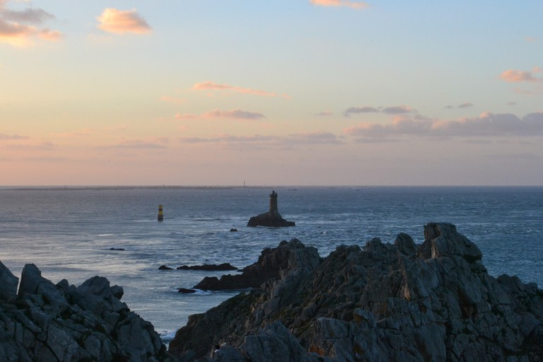 View on the lighthouses of Brittany, France |© Hristos Fleturis