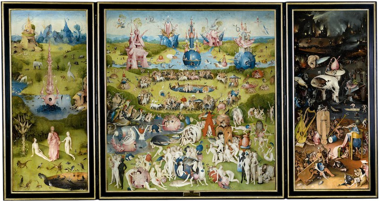 Hieronymus Bosch, The Garden of Earthly Delights, 1450–1510 | © Prado Museum/WikiCommons