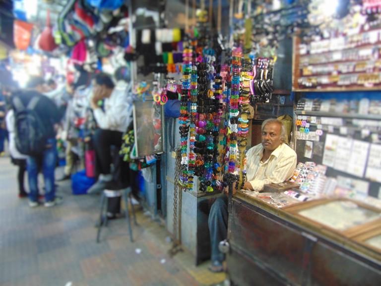Vendor in Hong-Kong Lane | © Gaurav Lele