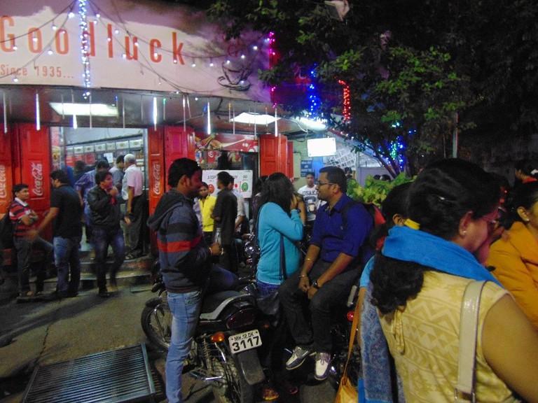 Cafe Goodluck| © Gaurav Lele