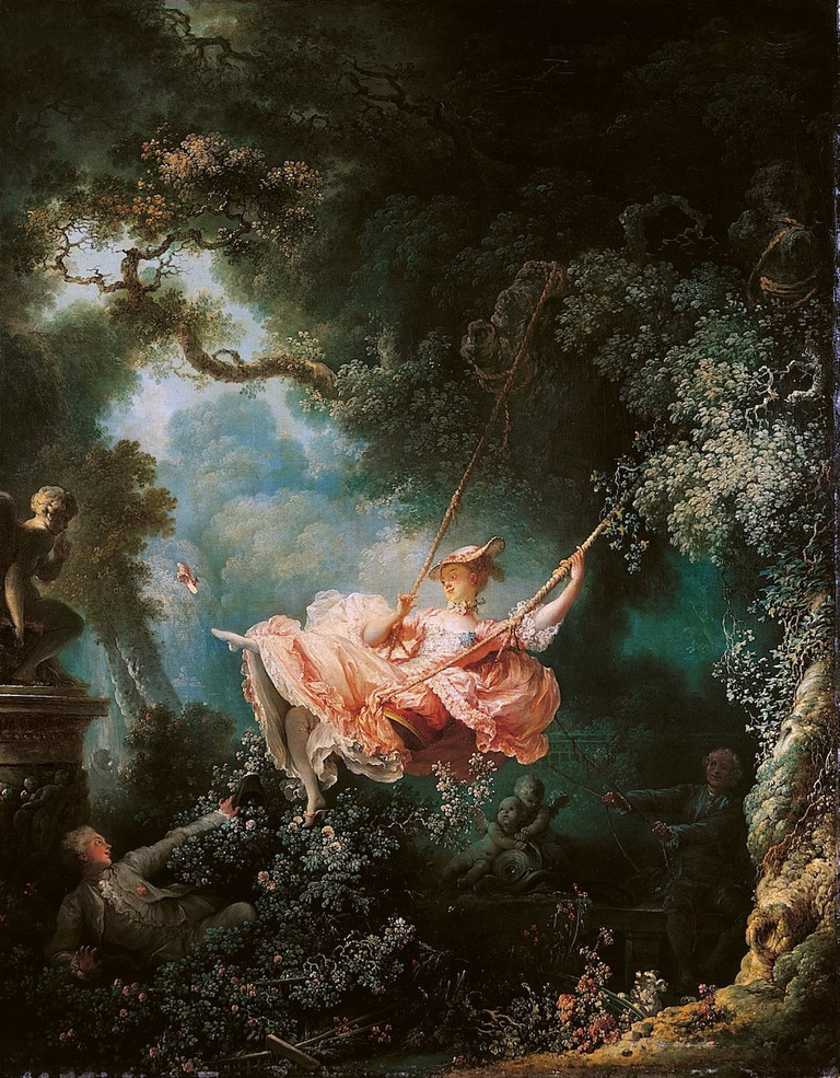 Jean-Honore Fragonard, The Swing, 1767 | © Wallace Collection/WikiCommons