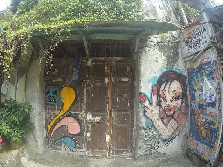 Bandra Street Art/Wikicommons