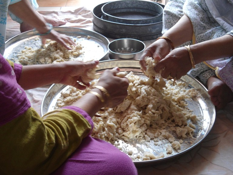 Making halwa © Mehak Siddiqui
