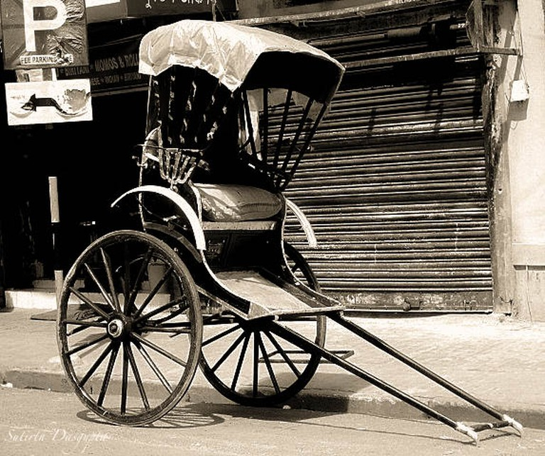 Handpulled Rickshaw | © Sutirth Dasgupta