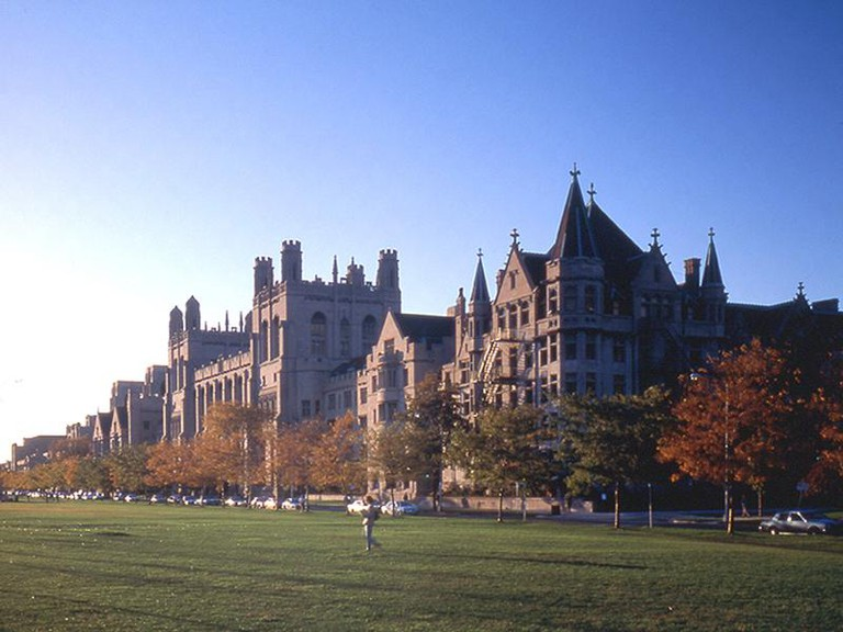 Midway Plaisance and University of Chicago | © Public Domain/WikiCommons
