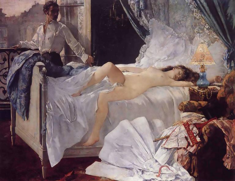 Henri Gervex, Rolla, oil on canvas, 1878