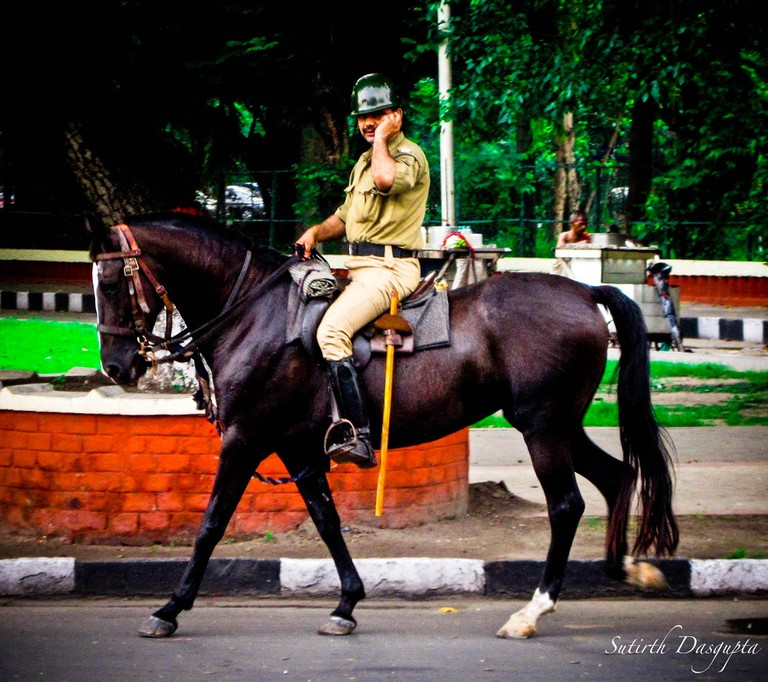 Horse Mount Cop | © Sutirth Dasgupta