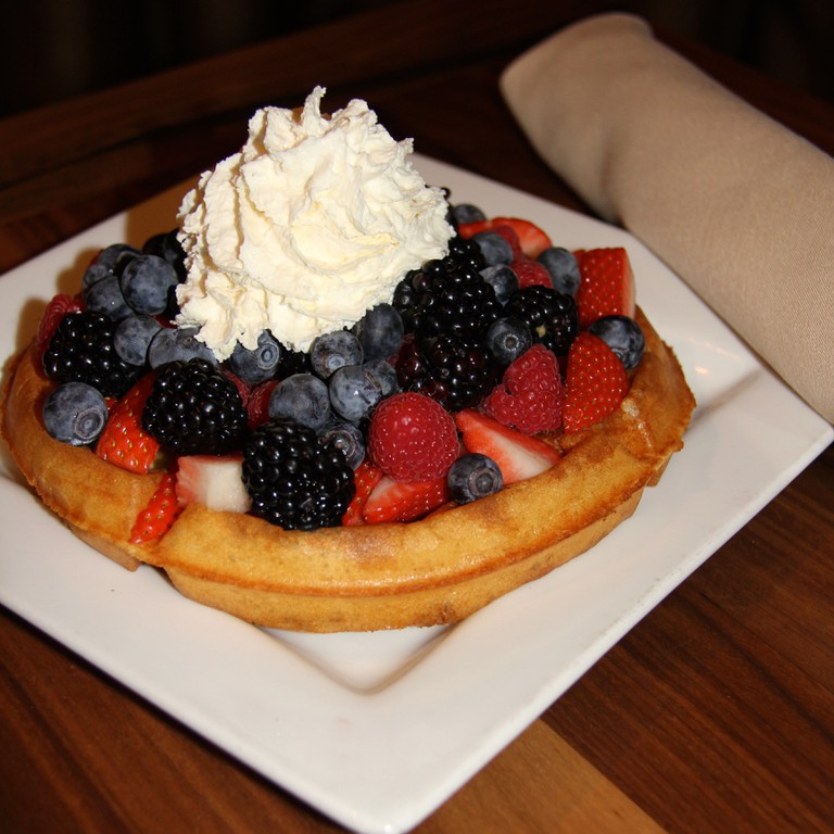 Waffle with Berries | Courtesy of Café Muse