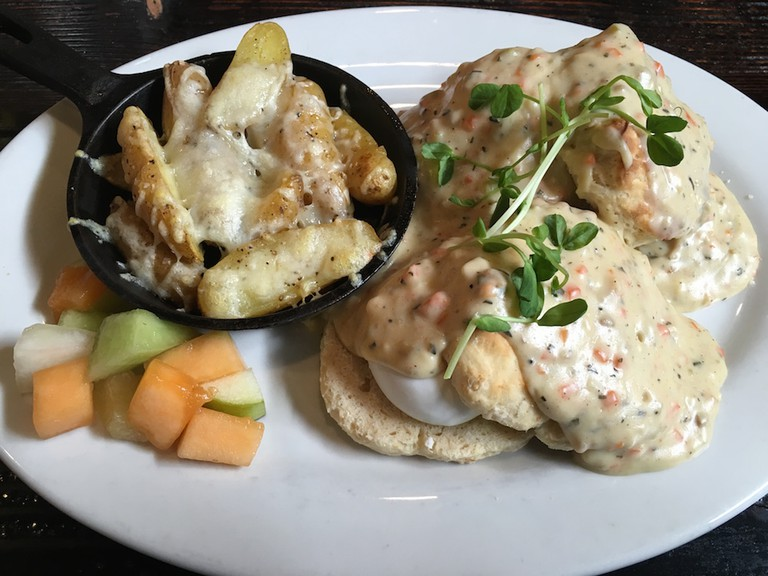 Brasserie biscuits and gravy | Courtesy of Marcelina Morfin