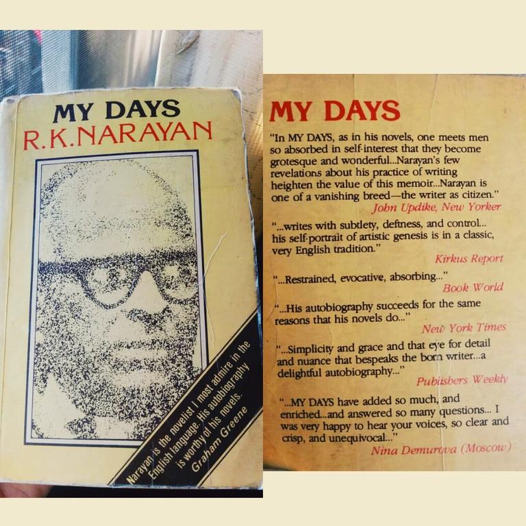 RK Narayan's Autobiography | © Jyotsna Gupta