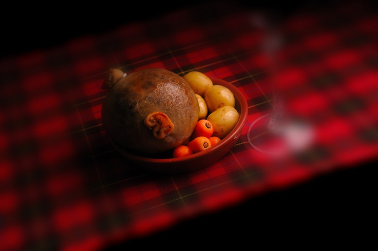 Haggis, © Janet Ramsden, taken 8 March 2013, Flickr, https://www.flickr.com/