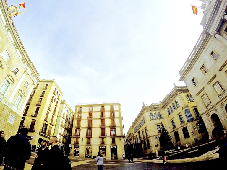 Plaça Sant Jaume | © Rambo Talabong