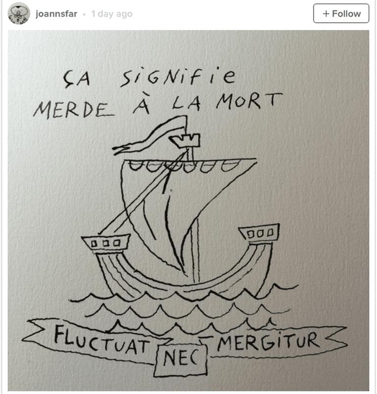 © Joannsfar/Instagram