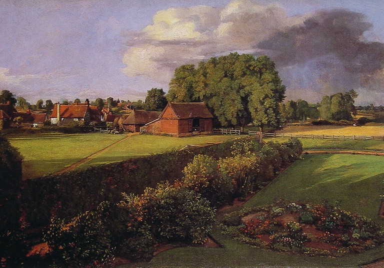 John Constable, Golding Constable's Flower Garden, 1815 | © Ipswich Borough Council Museums and Galleries/WikiCommons
