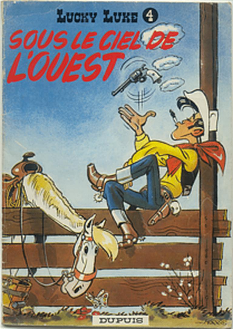 Cover of Sous le ciel de l'Ouest (1952)|© Wiki Commons