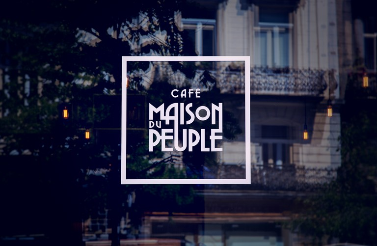 Café Maison du Peuple | Courtesy of Tof Agency