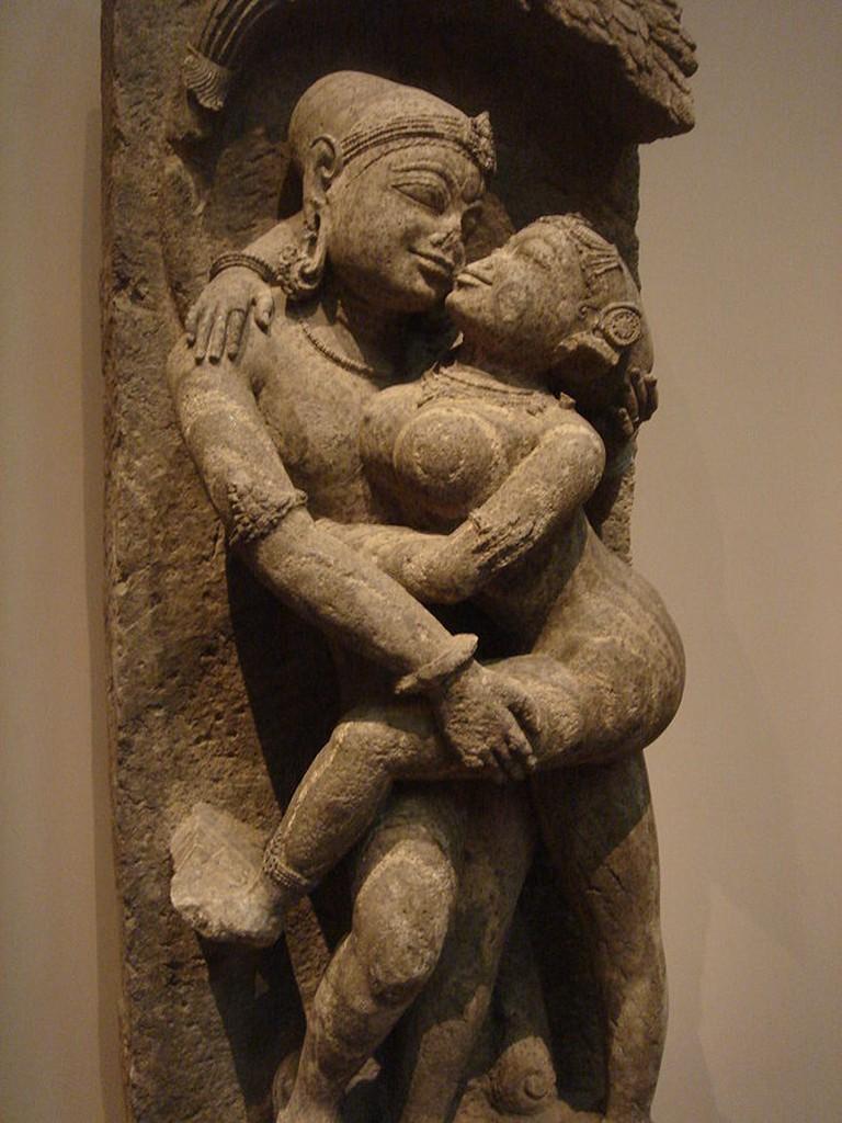 Loving Couple, Mithuna, 13th century, Orissa, India. Eastern Ganga dynasty