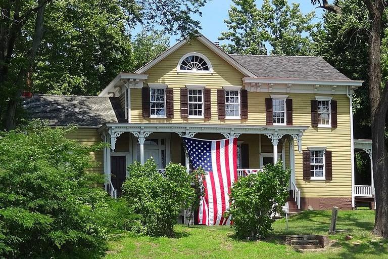 Metlar House, 1281 River Road Piscataway | (c) Zeete/WikiCommons