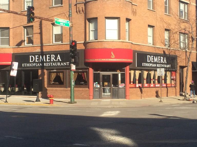 Demera Ethiopian Restaurant Exterior┃© Brady Guy