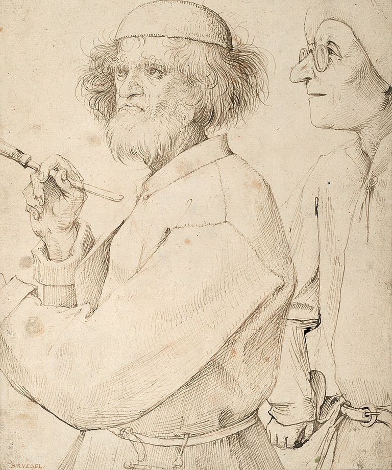 The Painter and the Buyer, by Pieter Bruegel the Elder,1565. This is possibly his self-portrait |© Wiki Commons
