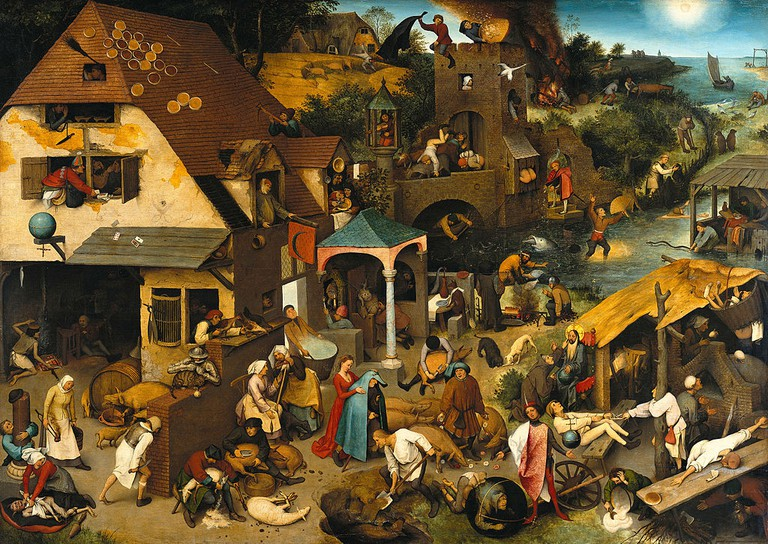 Flemish Proverbs by Pieter Bruegel the Elder | © Google Art Project/WikiCommons