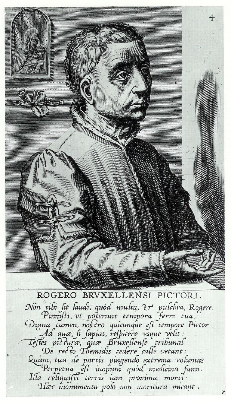 Cornelis Cort, Portrait of Rogier van der Weyden, 1572 |© Public Domain/WikiCommons