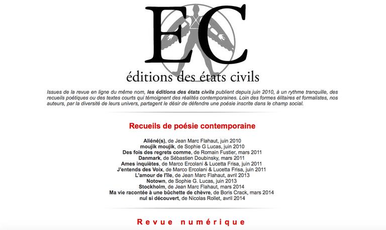 Les Etats Civils |© Les Etats Civils