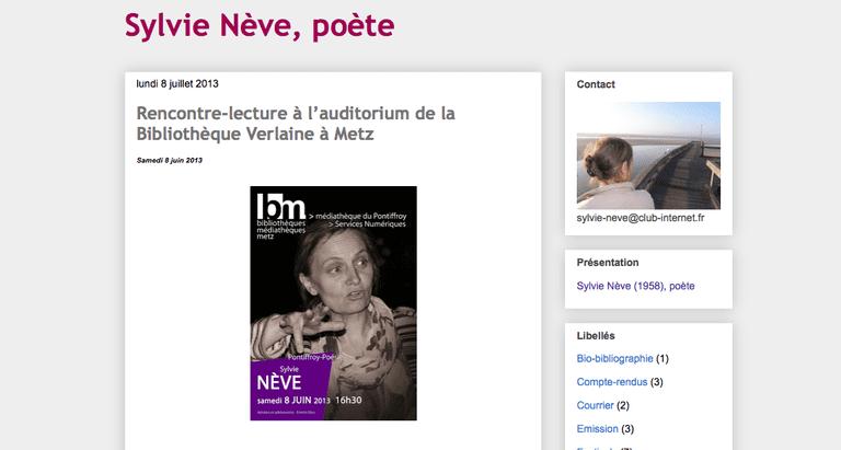 Blog by Sylvie Nève | © Sylvie Nève