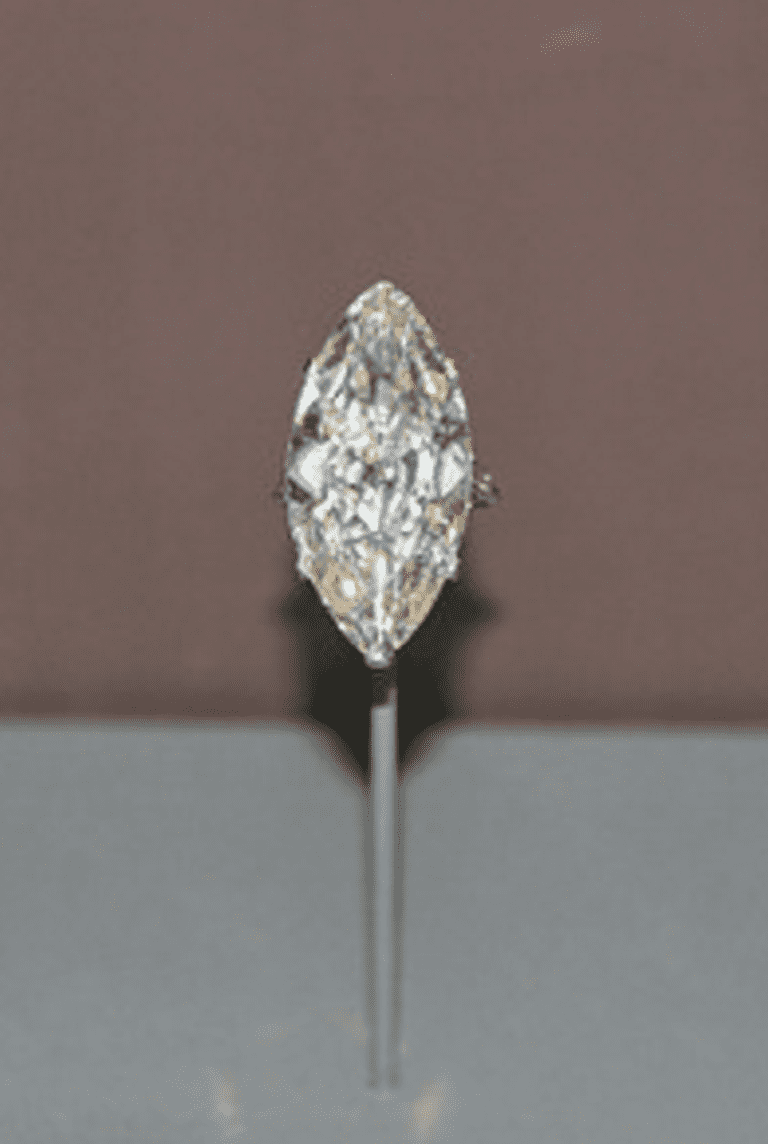 Cartier cut diamond in the marquise cut | © Cliff/Flickr