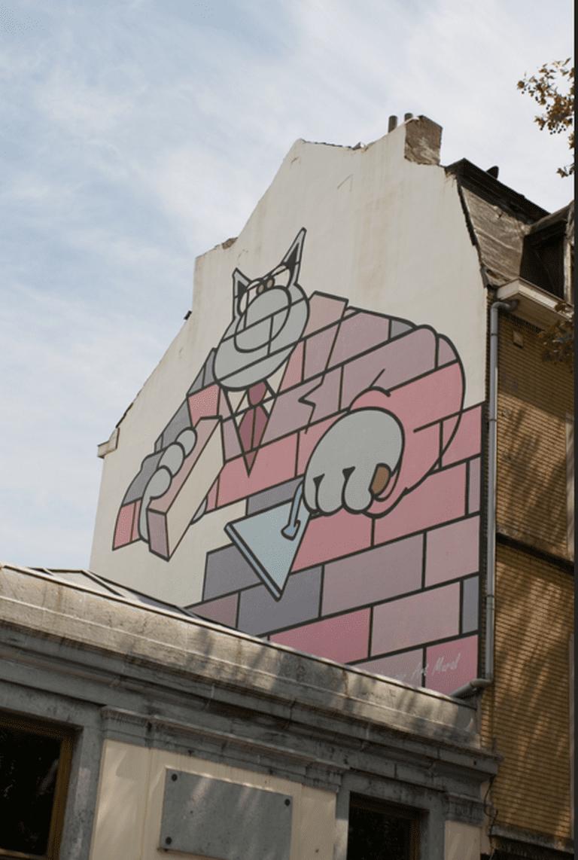 Le Chat/De Kat (Geluck) | © Lin Mei/Flickr