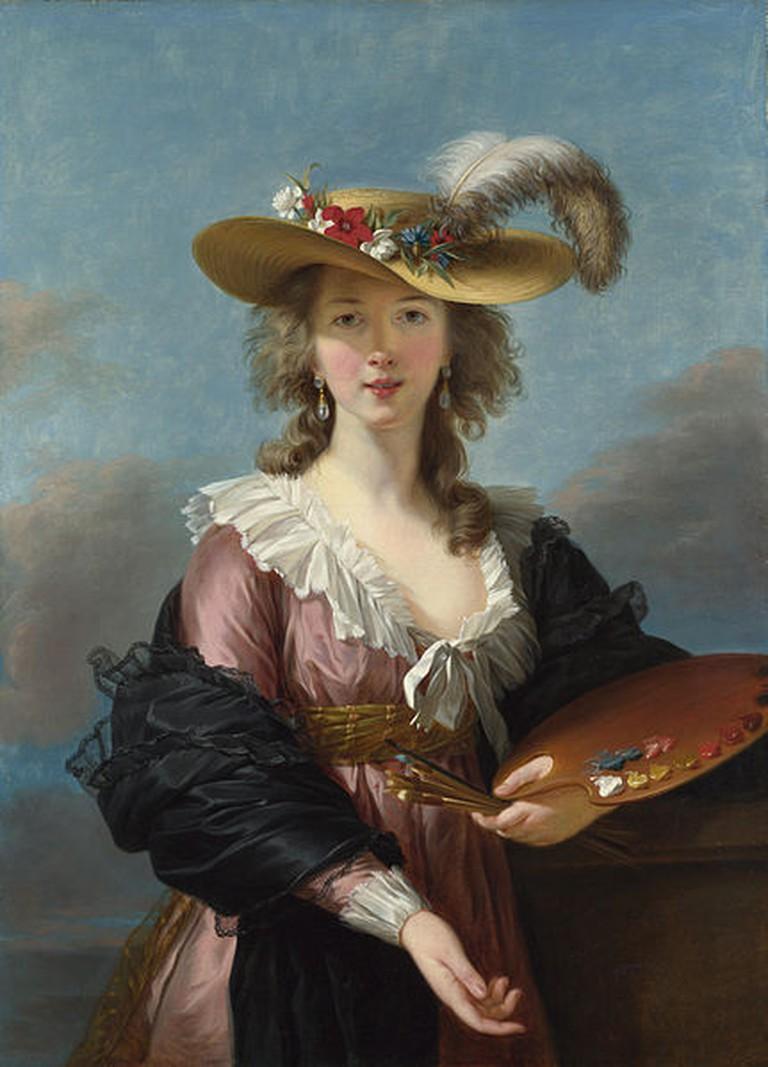 Self Portrait in a Straw Hat © Jbarta/WikiCommons